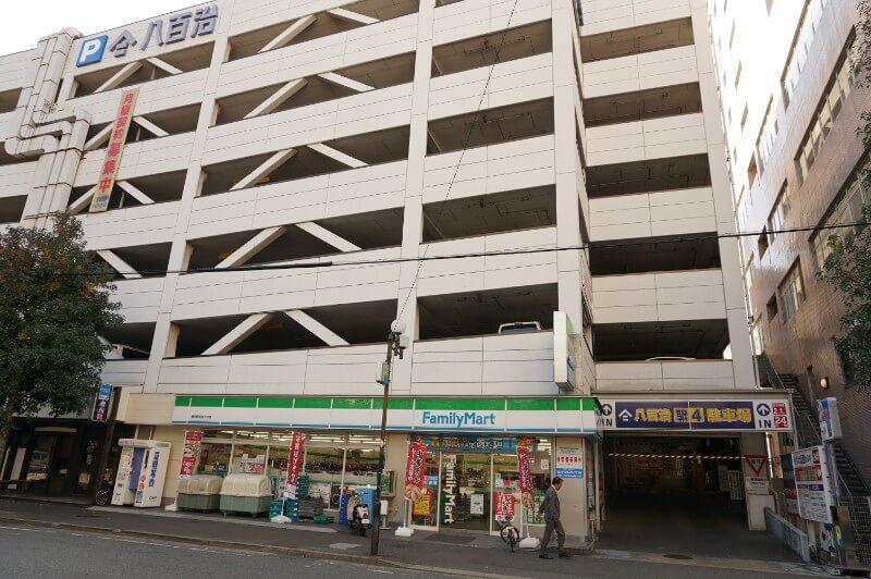 博多提携駐車場|八百治(やおじ)駅4駐車場