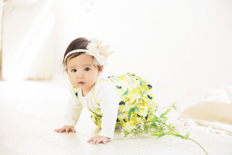 赤ちゃんの肌に優しい素材