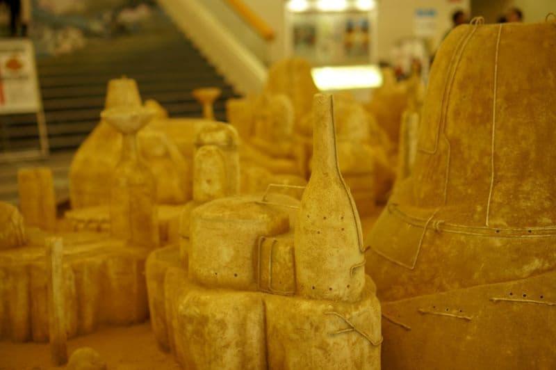 ジブリの大博覧会のジオラマ