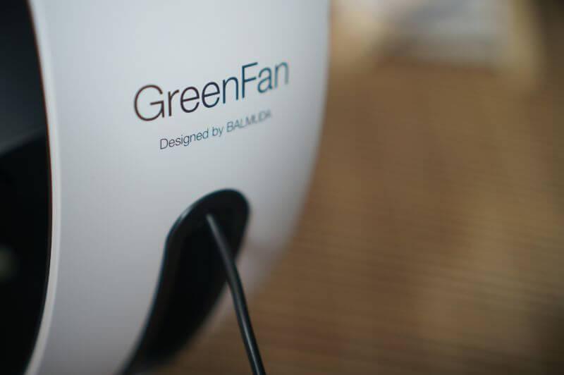 BALMUDA(バルミューダ)GreenFan Cirq(グリーンファン サーキュ)EGF-3300-WK